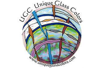 Unique Glass Colors Logo